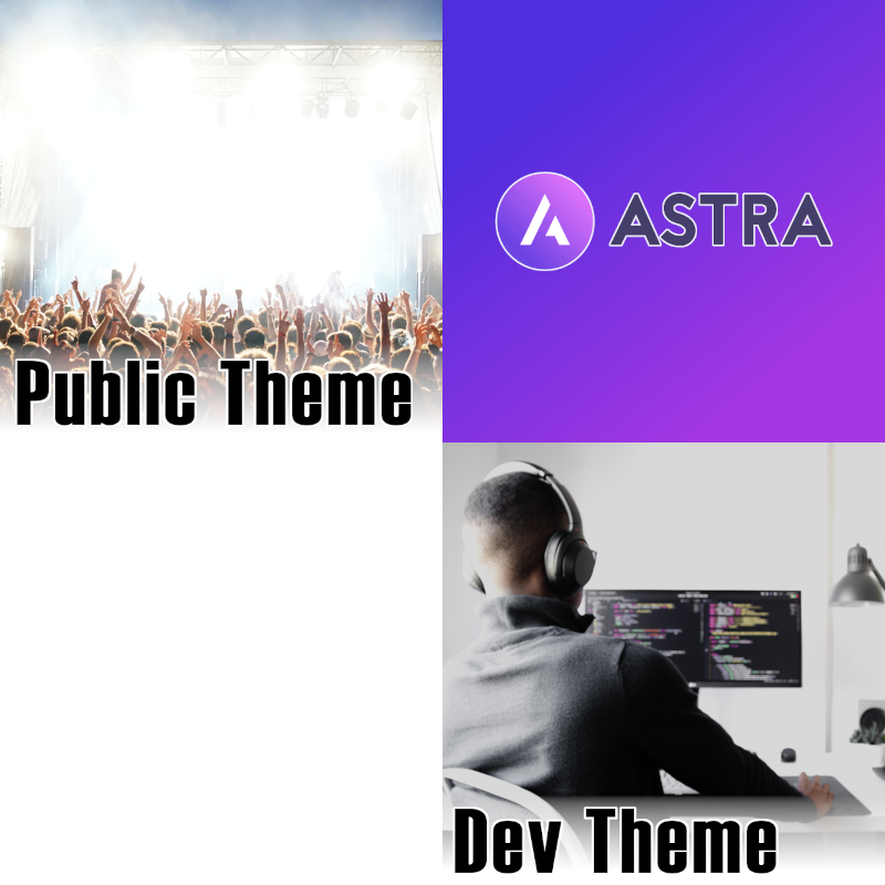 Child themes based on Astra