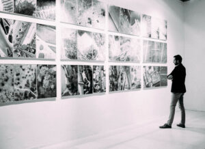 viewing an image gallery
